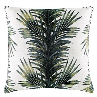 Goya Vert Buis Decorative Pillow