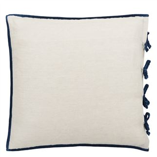 Sevanti Indigo Pillowcase 65x65cm - Reverse