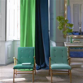 Varese Pale Jade Fabric | Designers Guild Essentials