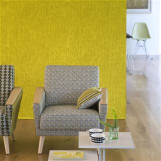 Ganton Graphite Fabric | Designers Guild