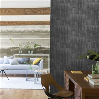 Sakiori Walnut Wallpaper | Designers Guild