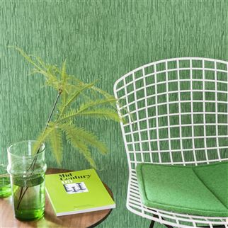 Sashiko Emerald Wallpaper | Designers Guild
