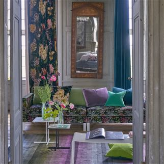 Casablanca Berry Fabric | Designers Guild