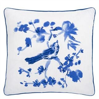 Majolica Cornflower Cushion