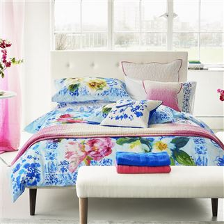Majolica Cornflower Bed Linen