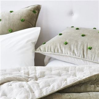 Sevanti Dove Quilts & Shams | Designers Guild