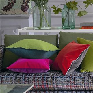 Varese Magenta Decorative Pillow | Designers Guild