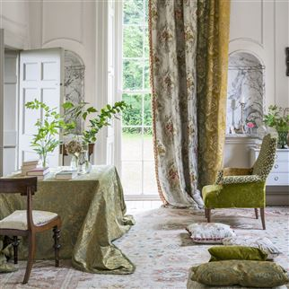 Beaufort Emerald Fabric | Royal Collection