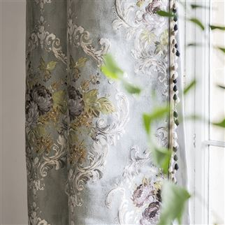 Beatrice Graphite Fabric | Royal Collection