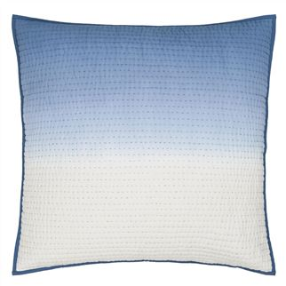 Saraille Indigo Quilted Large Cushion