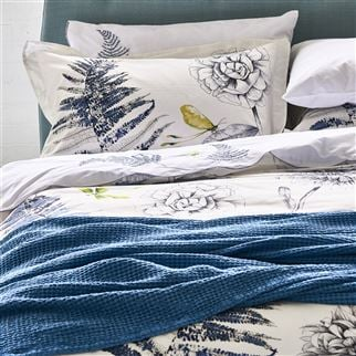 Alba Wedgwood Throw | Designers Guild