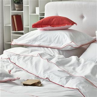 Astor Coral & Blush Bed Linen