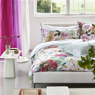 Palissy Camellia Bed Linen