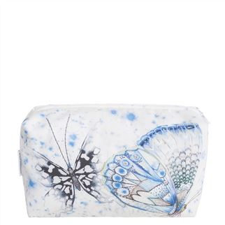 Papillons Cobalt Toiletry Bag
