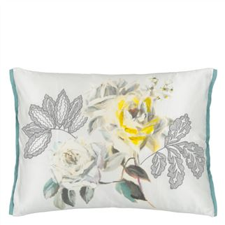 Camille Platinum Decorative Pillow