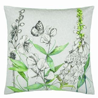 Emilie Platinum Decorative Pillow