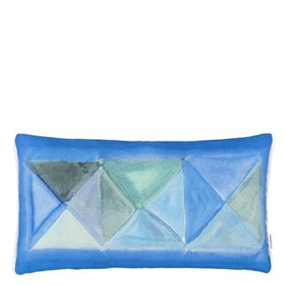 Bougival Cobalt Cushion