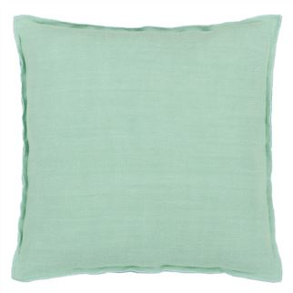 Brera Lino Pale Jade Decorative Pillow