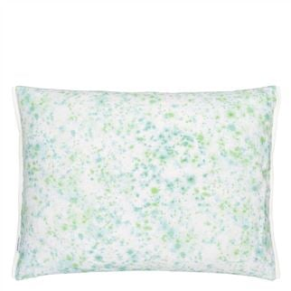 Palme Botanique Emerald Outdoor Cushion  - Reverse
