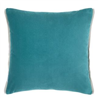 Varese Pale Jade Cushion - Reverse