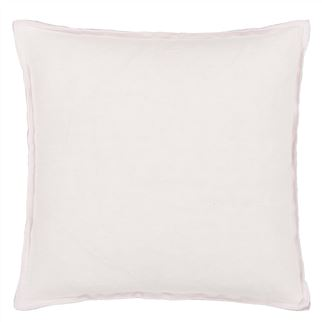Brera Lino Pale Rose Cushion - Reverse