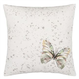 Papillons Shell Cushion  - Reverse