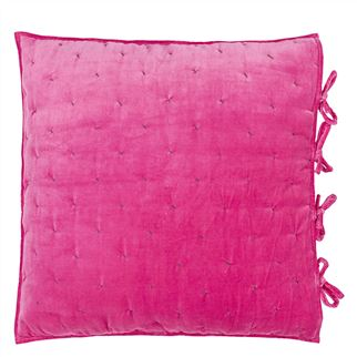 Sevanti Fuchsia Square Quilted Decorative Pillow