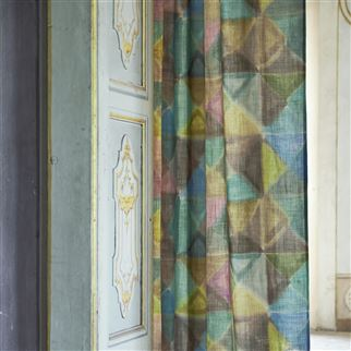 Bougival Azure Fabric | Designers Guild