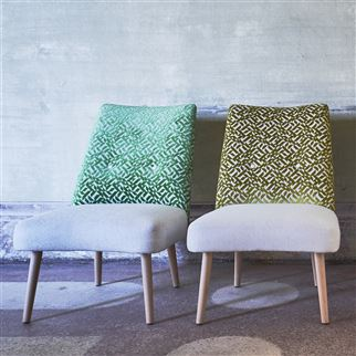 Dufrene Moss Fabric | Designers Guild