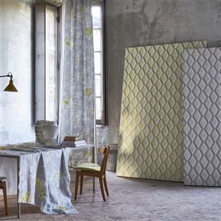 Jourdain Limelight Wallpaper | Designers Guild