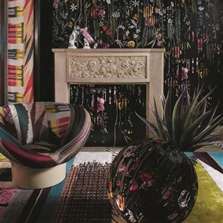 Babylonia Nights Soft Crepuscule Fabric | Christian Lacroix