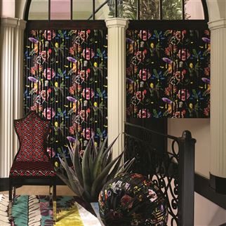 Babylonia Nights Soft Crepuscule Wallpaper | Christian Lacroix