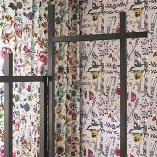 Primavera Labyrinthum Perce Neige Wallpaper | Christian Lacroix