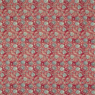 Shell Beach Batik Scarlet