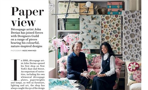 John Derian feature in House & Garden, UK