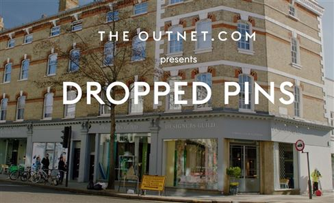 Tricia Guild & The Outnet Dropped Pins series