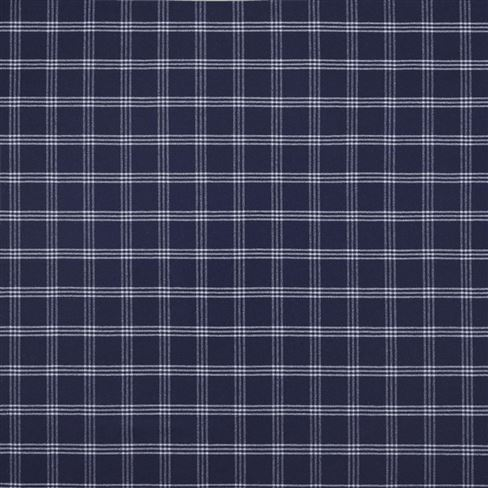 Dickens Wool Check Navy