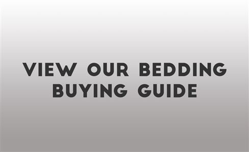 BEDDING SHOPPING GUIDE