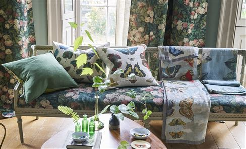 JOHN DERIAN CUSHIONS & THROWS