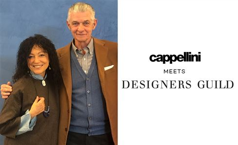 Capellini meets Designers Guild | 9th - 14th APRIL  2019
