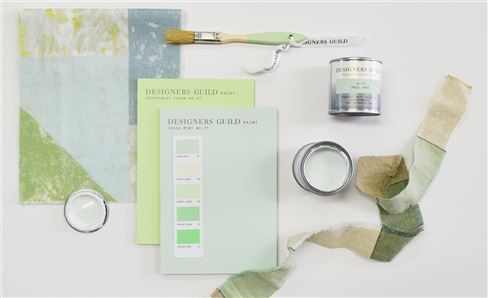 Paint Edit: Shades of Spearmint & Pistachio