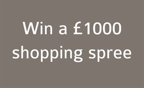 WIN A £1,000 ONLINE SHOPPING SPREE