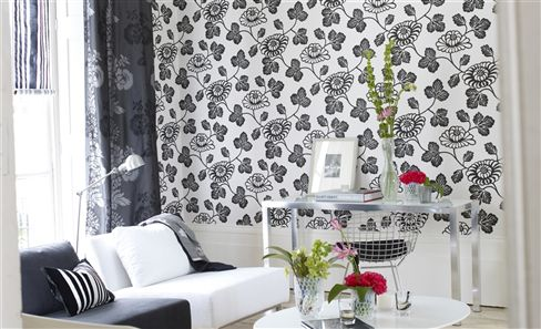 TARAZ WALLPAPER Decorative Graphic Looks For Your Wall From Grandeur To  Minimalism