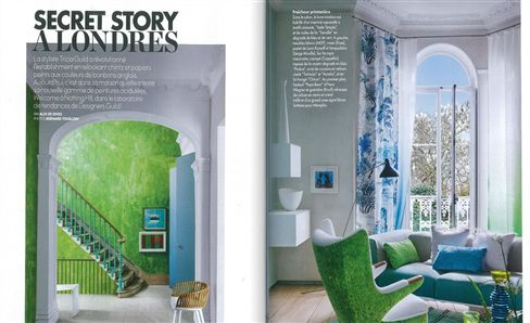 Tricia Guild in ELLE Decoration, France