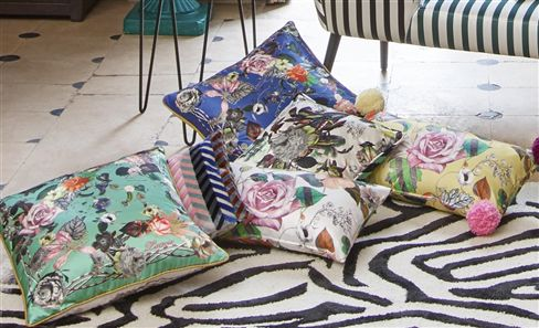 CHRISTIAN LACROIX DECORATIVE PILLOWS