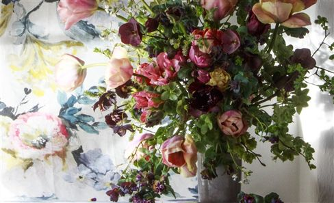 Juliet Glaves Floral Dining Installation | 23rd May