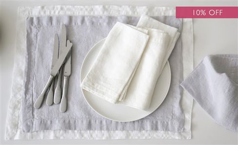 SALE WHITE COLLECTION TABLEWARE & TABLE LINEN