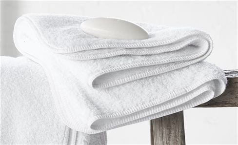 SALE WHITE COLLECTION TOWELS