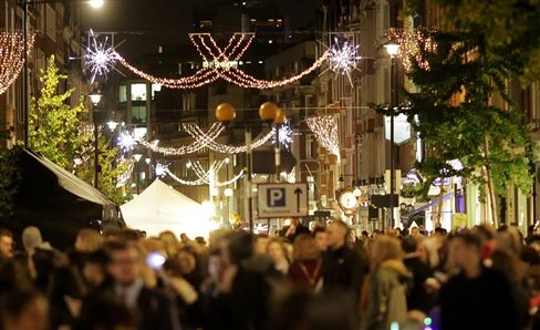 Marylebone High Street Christmas Lights Switch-On | 15th November