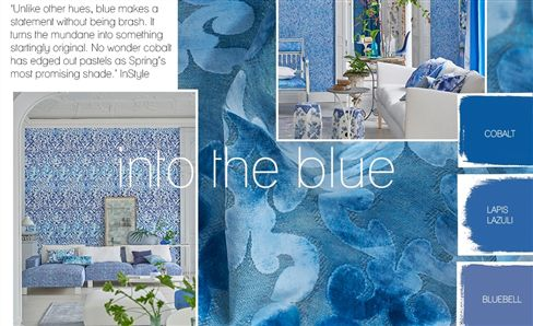 Trend: Into the blue